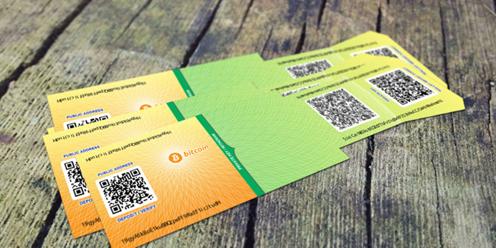 Kryptoměny: papírová peněženka